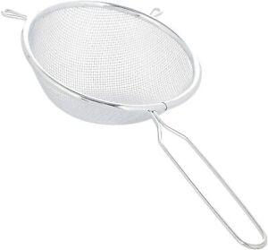ChefAid 20cm Sieve Strainer Mesh Wire Flour Baking Kitchen