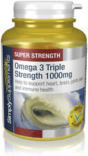 Omega 3 Triple Strength | 240 Capsules | Fish Oils Containing EPA & DHA