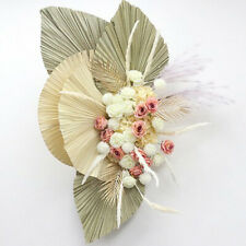 Natural Dried Flower Palm Leaf Branch Plants Wedding Party Arch Props Home Decor