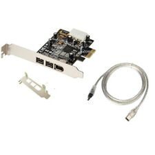 PCIe to Firewire 800 1394b+1394a Combo PCI-E Express Card TI Chipset