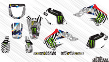 AM0002 HONDA CR 125 1998-1999 CR 250 1997-1999 DECALS STICKERS GRAPHICS KIT
