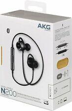 AKG N200 WIRELESS/Bluetooth Headphones Earbuds (Black)
