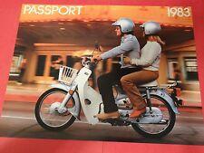 1983 Honda C70 PASSPORT Motorcycle Sales Brochure - Literature