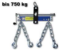 1600lb 750kg Engine Crane Hoist Lift Leveller Chain Load Garage Loading Balancer