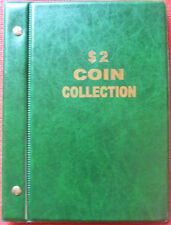 VST AUSTRALIAN COIN ALBUM for $2 COLLECTION 1988 to 2016 + MINTAGES *NEW EDITION