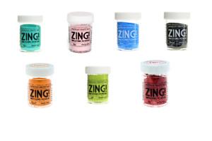 American Crafts Zing! Embossing Powder Bundle NEW 582898