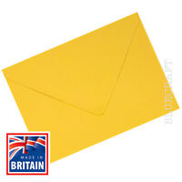 150 pack x A6 C6 Golden Yellow Premium Quality 100gsm Envelopes 114 x 162mm