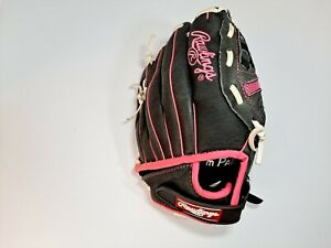 "Rawlings Pink 10"" Jr Left Hand Throw Glove ST1000FPM"
