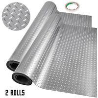 Vinyl Floor Covering Garage Flooring Mat Gym Floor Protector 7.8x1.1Mx2(Roll)