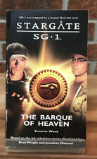 Stargate Sg-1 : The Barque Of Heaven Suzanne Wood Paperback Book #11
