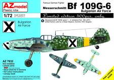 """AZ Models 1/72 Messerschmitt Bf-109G-6 """"Bulgarian Air Force"""" # 7632"""