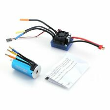 3670 2650KV Sensorless Brushless Motor with 120A ESC Combo Set for 1/8 RC car 97