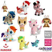 Aurora TOKIDOKI Unicorno Mermicorno Plush Cuddly Soft Toy Teddy Kids Gift Brand