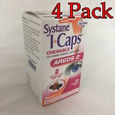 Systane iCaps Areds2 Berry Chewables, 60ct, 4 Pack 300658048035S1170