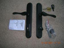 (Pella) Left Hand Hinged Active Door Handle Hardware Black New Plus lock