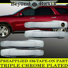2009-2010 DODGE JOURNEY Triple ABS Chrome Door Handle Cover W/O Intelligent Key