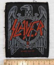Aufnäher - Patch - Slayer -  Woven - Metal - Kutte - 2009