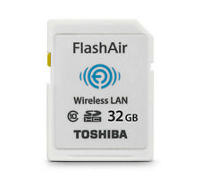 Toshiba Wireless LAN SDHC Speicherkarte 32GB FlashAir Class 10