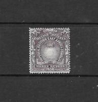 1890 Queen Victoria SG17 3 rupees Slate Purple Mint Hinged  BRITISH EAST AFRICA