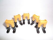 Playmobil 5. garde españoles ACW garde caballero piernas amarillo botas negras