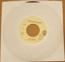 "Rufus & Chaka Khan – Ain't Nobody / Sweet Thing 7"" 7-29555 1984"