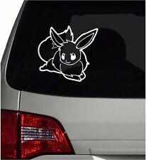 "Vinyl Decal Sticker. Car, Window, Wall... Pokemon 133 Eevee (6"" x 6.5"")"