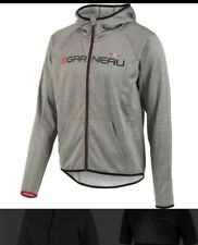 louis garneau gray factory hoodie womens size small used Excellent condition