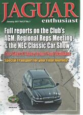 JAGUAR ENTHUSIAST MAGAZINE January 2011 Vol 27 No 1 The Mark X Story AL