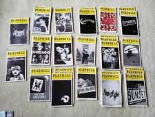 17 Playbills - NYC Broadway plus tickets for most of them