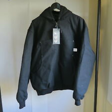 Filson CCF Arctic Down Parka Hoody Black Jacket XL sweater Canvas Quilted vest