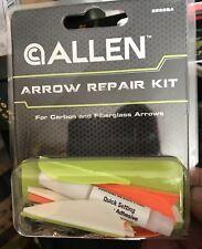New ALLEN Arrow Fletching Repair Kit For Carbon and Fiberglass Arrows