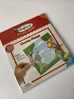 Curious George Colorforms Adventure Set Rare 2001 Promo Item Universal Studios