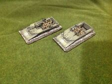 Flames of War British waterline LVT-4 X2 Painted FOW