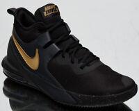 Nike Air Max Impact Men's Black Metallic Gold Athletic Basketball Sneakers Shoes