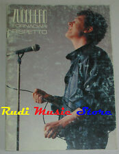 spartito ZUCCHERO SUGAR FORNACIARI Rispetto 1986 CARISCH italy cd lp mc dvd vhs