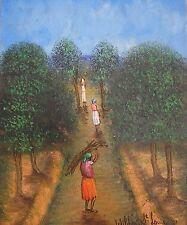 Stunning 12X16  painting by Haitian Artist Wildert St. Louis