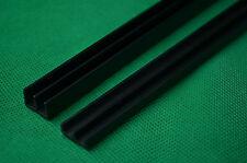 1.8m PVC RUNNERS fit 6ft VIVARIUM GLASS DOORS 6MM (2 X 90CM)