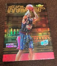 2000-01 Finest Gold Refractor STEVE FRANCIS/GARY PAYTON Off the Meter #ed 02/100