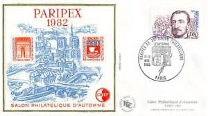 FDC CNEP n° 3 - Paripex 1982 - Salon Philatélique d'automne