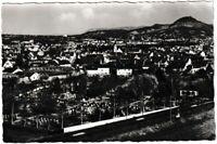 Ansichtskarte Reutlingen-Betzingen - Ortsansicht mit Kirche und Friedhof - s/w