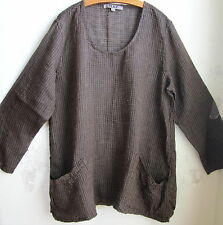 FLAX  Linen  Shirt  3G   NWT SLOUCH TUNIC