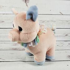 """Precious Moments 6"""" Tender Tails Pink Pig 3 Year Birthday 1999 Plush"""