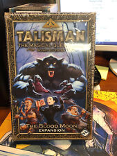 Board Game Talisman The Blood Moon Expansion Fantasy Flight Games Sealed OOP