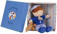 Doudou Peluche ptit sportif bleu garçon doudou et compagnie poupée Doll ours 9
