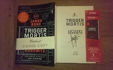 Trigger Mortis SIGNED Anthony Horowitz 007 James Bond 1st Edition 1st Impression