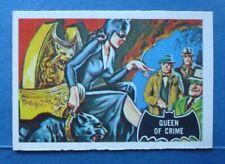 "Rare 1966 A&BC **BATMAN - Black BAT** Card # 26 ""QUEEN Of CRIME"" *The CATWOMAN*"