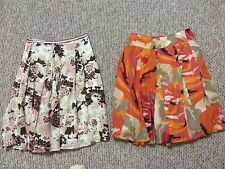 2 items CHRISTOPHER & BANKS + LIZ & CO women's SKIRTS (both size 8 )