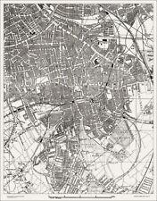 Old Kent Road, Peckham, old / vintage  Map 1888 Gtr London #29