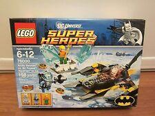 LEGO DC UNIVERSE SUPER HEROES 76000 Arctic Batman vs. Mr. Freeze Aquaman on Ice