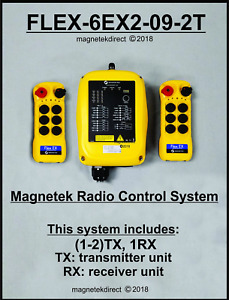Magnetek FLEX-4EX2-POUCH clear vinyl pouch for radio remote control transmitter